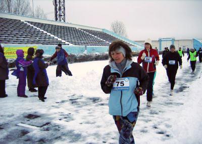 Первый весенний марафон